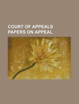 Court of Appeals Papers on Appeal