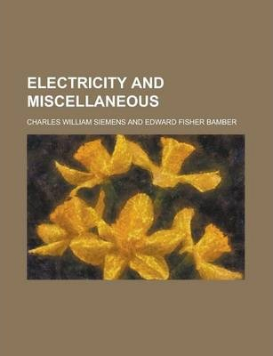 Electricity and Miscellaneous