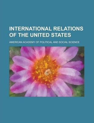 International Relations of the United States