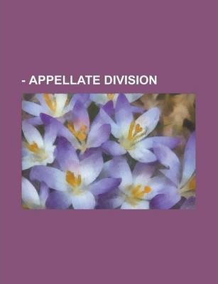- Appellate Division