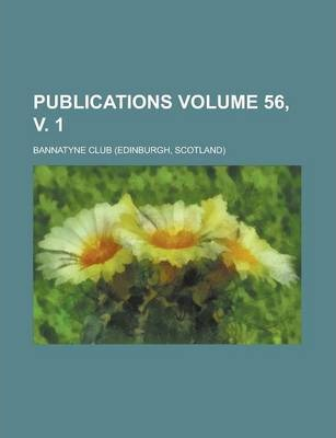 Publications Volume 56, V. 1