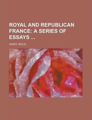 Royal and Republican France