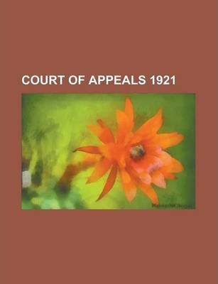 Court of Appeals 1921