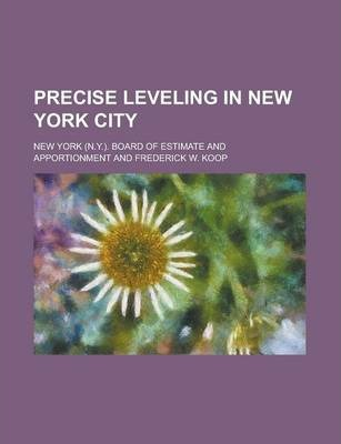 Precise Leveling in New York City