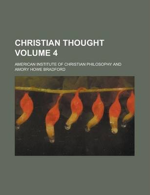 Christian Thought Volume 4