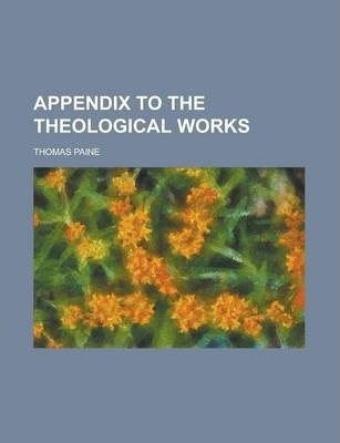 Appendix to the Theological Works