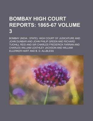 Bombay High Court Reports Volume 3