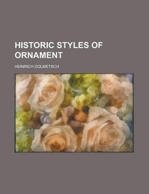 Historic Styles of Ornament