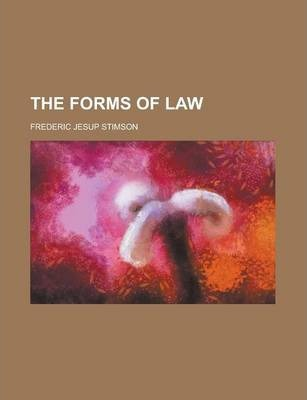 The Forms of Law