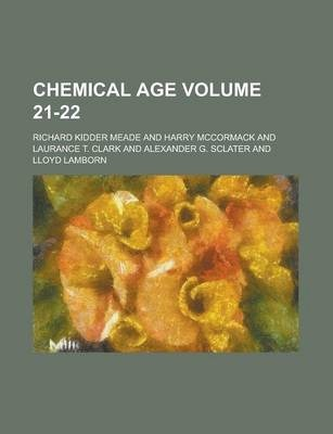 Chemical Age Volume 21-22