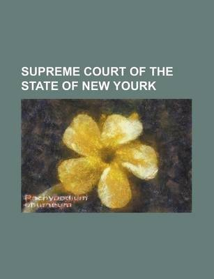 Supreme Court of the State of New Yourk