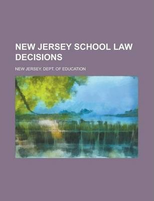 New Jersey School Law Decisions