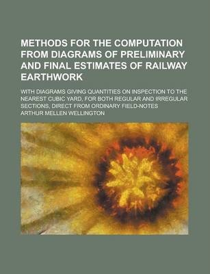 Methods for the Computation from Diagrams of Preliminary and Final Estimates of Railway Earthwork; With Diagrams Giving Quantities on Inspection to the Nearest Cubic Yard, for Both Regular and Irregular Sections, Direct from Ordinary