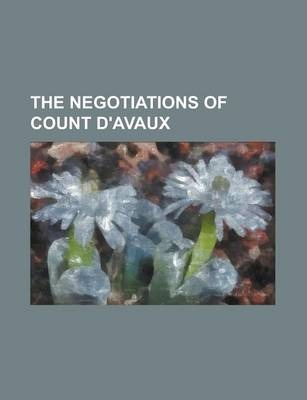 The Negotiations of Count D'Avaux