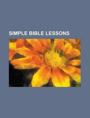 Simple Bible Lessons
