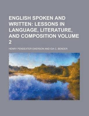 English Spoken and Written Volume 2