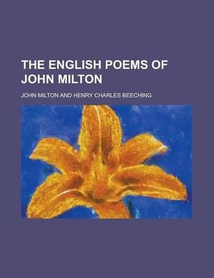 The English Poems of John Milton