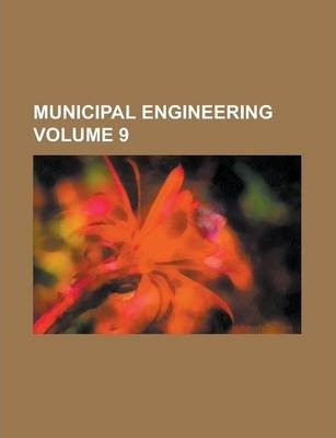 Municipal Engineering Volume 9