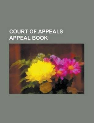 Court of Appeals Appeal Book