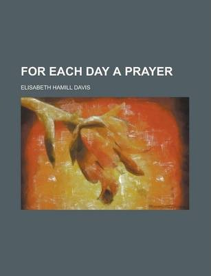For Each Day a Prayer