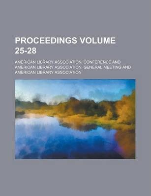 Proceedings Volume 25-28