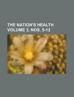 The Nation's Health Volume 3, Nos. 5-12