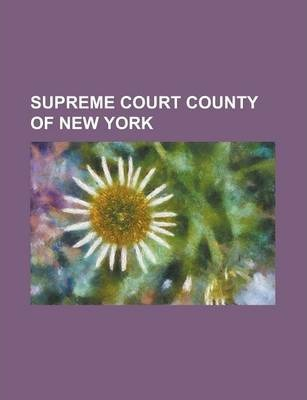 Supreme Court County of New York