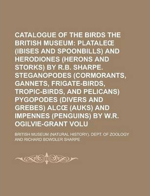 Catalogue of the Birds in the British Museum Volume 26