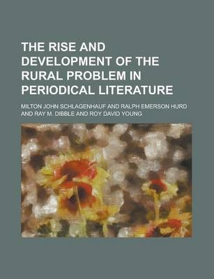 The Rise and Development of the Rural Problem in Periodical Literature