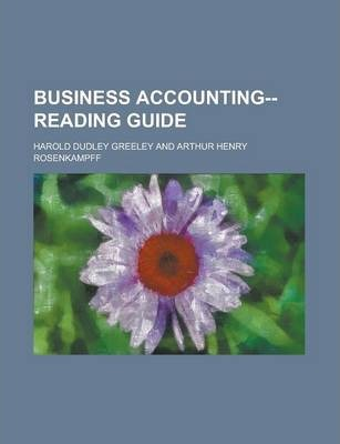 Business Accounting--Reading Guide