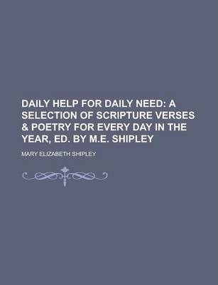 Daily Help for Daily Need