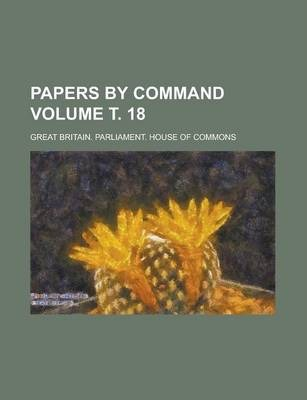 Papers by Command Volume . 18