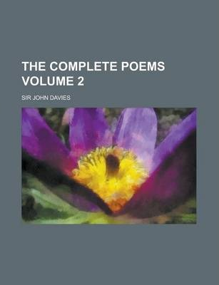 The Complete Poems Volume 2