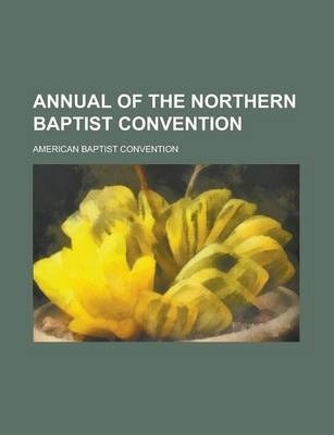 Annual of the Northern Baptist Convention