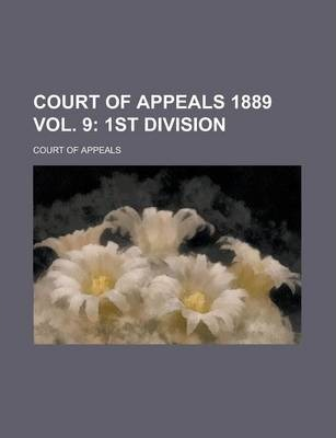 Court of Appeals 1889 Vol. 9