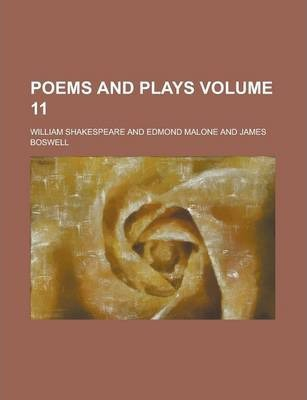 Poems and Plays Volume 11