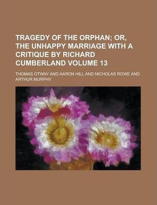 Tragedy of the Orphan Volume 13