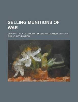 Selling Munitions of War