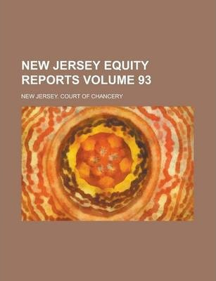 New Jersey Equity Reports Volume 93