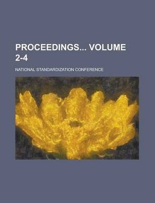 Proceedings Volume 2-4