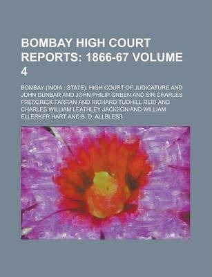 Bombay High Court Reports Volume 4