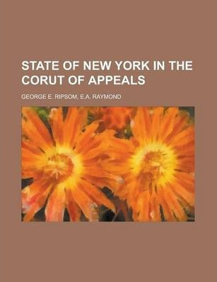 State of New York in the Corut of Appeals
