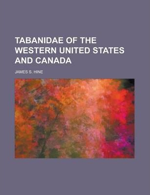 Tabanidae of the Western United States and Canada