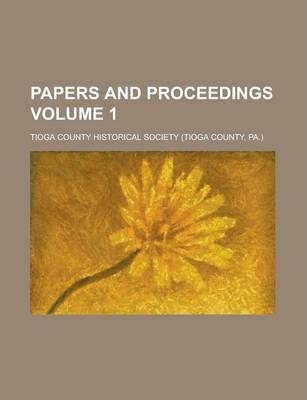 Papers and Proceedings Volume 1