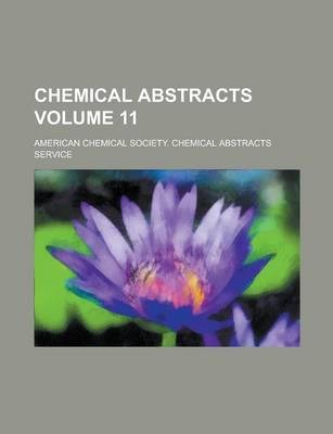 Chemical Abstracts Volume 11