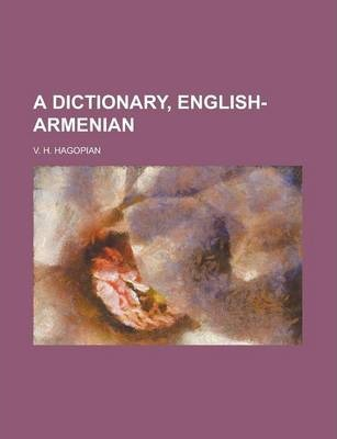 A Dictionary, English-Armenian