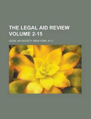 The Legal Aid Review Volume 2-15