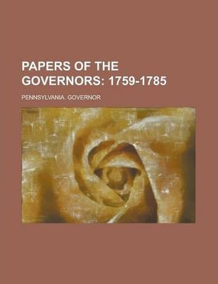 Papers of the Governors