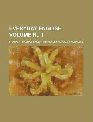 Everyday English Volume N . 1