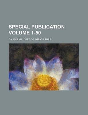 Special Publication Volume 1-50